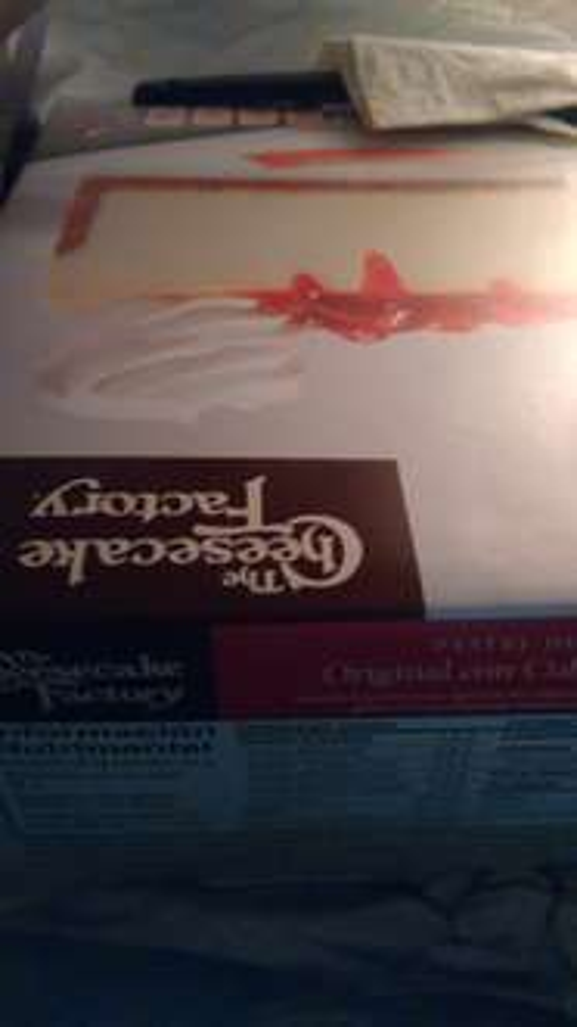 Walmart: cheescake factory fresa