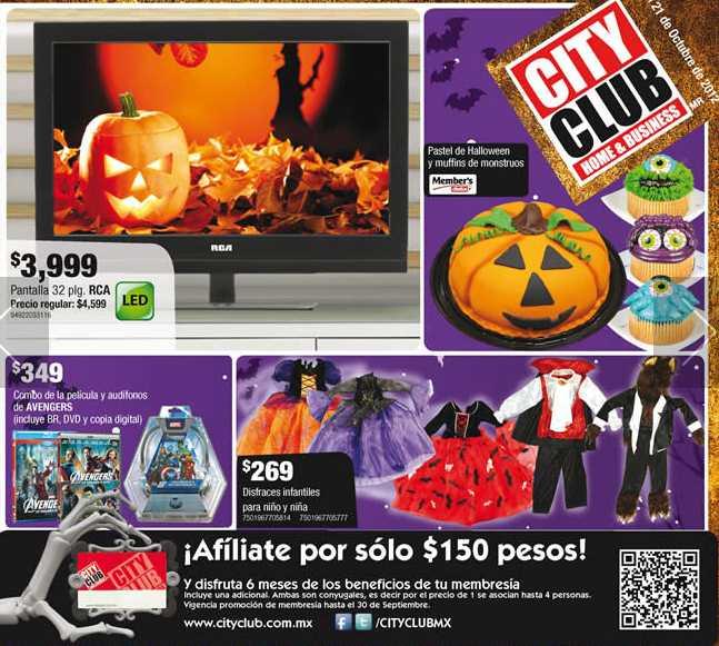 """Cuponera City Club: pantalla LED 32"""" $3,999, Blu-ray $999, ofertas en pañales, esferas, whisky y más"""