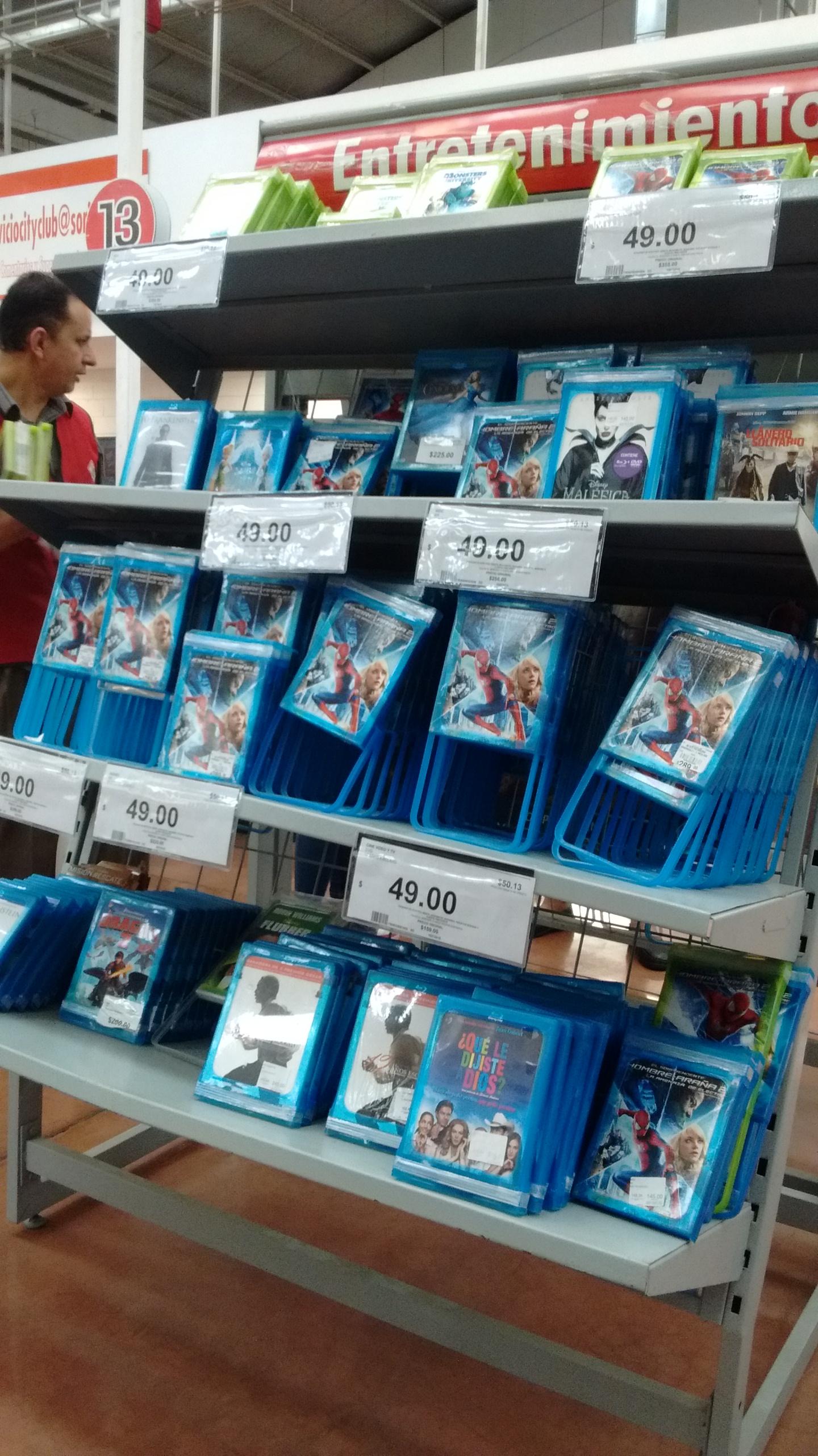 City Club: Películas Bluray y DVD en remate a $49 (incluye 3D)