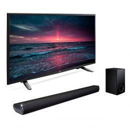 Sears en línea: paquete LED LG 43'' + barra de sonido Las350B a $7'199.00 ($6479 con crédito Sears)