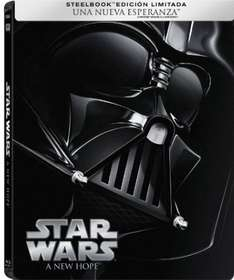 Amazon: Steelbooks de la saga original de Star Wars en Oferta