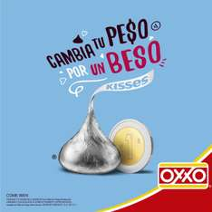 Oxxo: Kisses de a peso