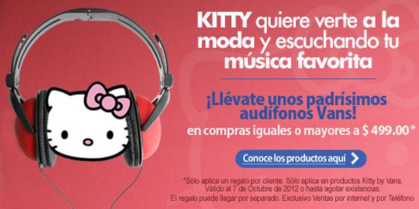 Liverpool: audífonos Vans gratis comprando artículos Kitty by Vans