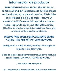 Compra 24 cervezas en Beerhouse y te regala un pase doble para The Mirror: Tomorrowland