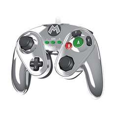 Palacio de Hierro: Nintendo Wired Fight Pad Metal Mario para Wii U