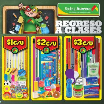 Bodega Aurrerá: folleto de regreso a clases a partir del 22 de julio