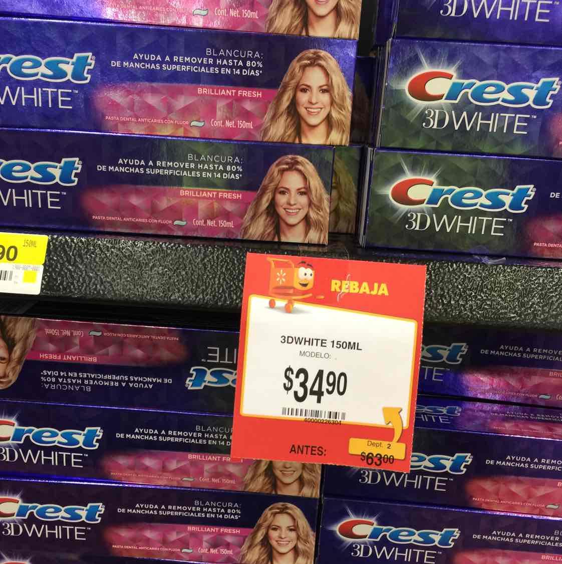 Walmart: Crest White 3D a $34.90