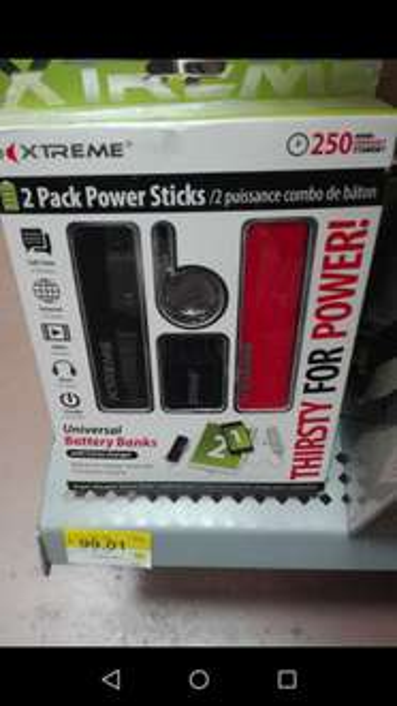 Walmart: 2 baterias externas 1800mah marca Xtreme