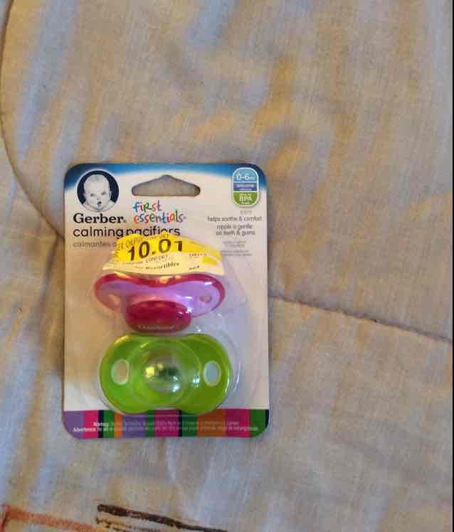 Walmart: Set de chupones Gerber a $10.01