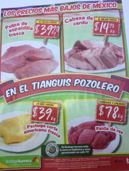 Tianguis de Mamá Lucha septiembre 14: chile poblano $2, lechuga $4.90 y más