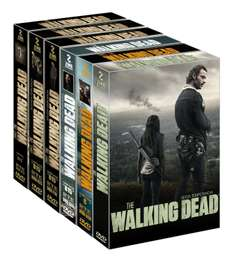 Amazon: The Walking Dead temporadas 1-6 en DVD rebajado de $1699 a $875