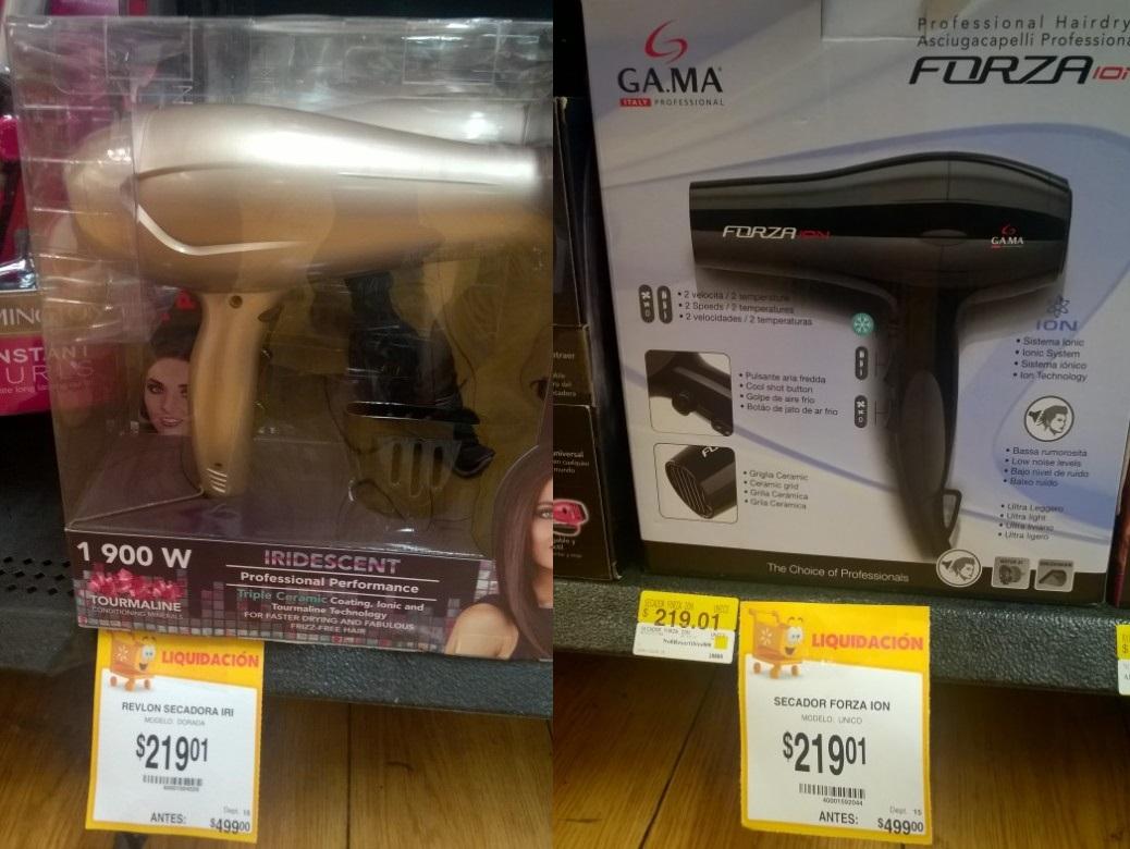 Walmart Merida: Secadora Revlon y Forza Ion de $499 a $219.01 ...y mas