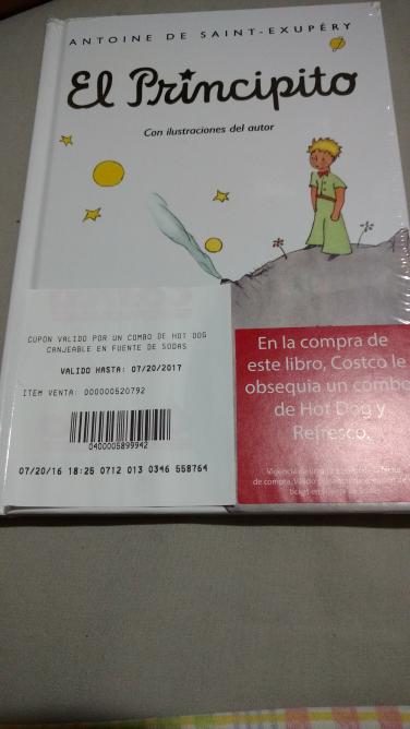 Costco: En la compra de un libro, gratis un combo de Hotdog y refresco