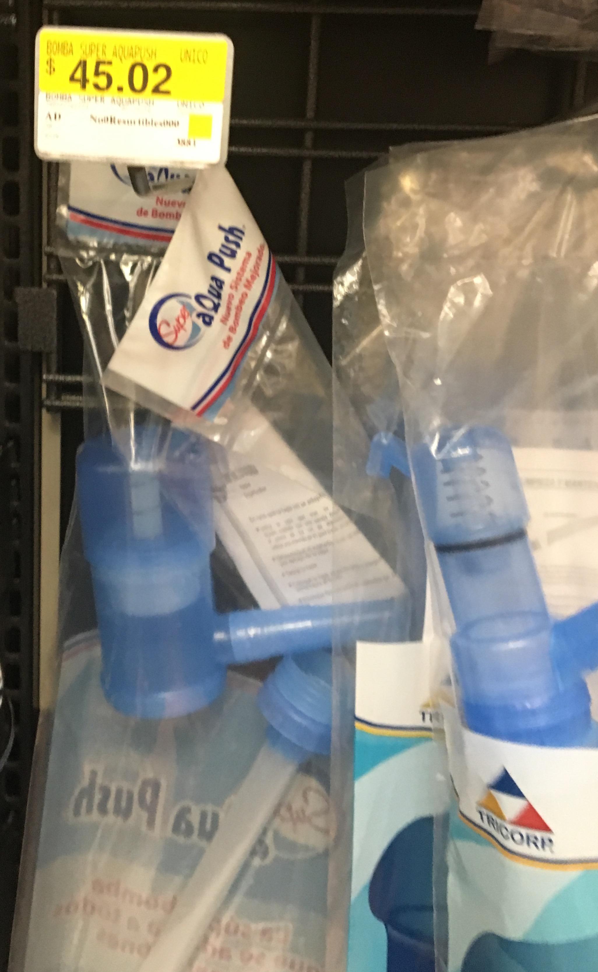 Walmart Plateros: bomba para agua marca Super Aqua Push a $45.02