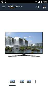 "Amazon: Pantalla Samsung de 60"" LED Smart TV Full HD UN60J6300AFXZX"