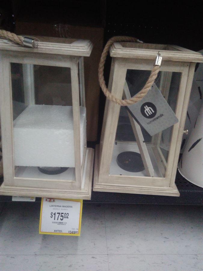 Walmart: ¡Festival de liquidaciones en .02 y .03! plancha de vapor vertical, portavelas, linterna, candelabro, portaretrato, cojín, espejo y mucho más
