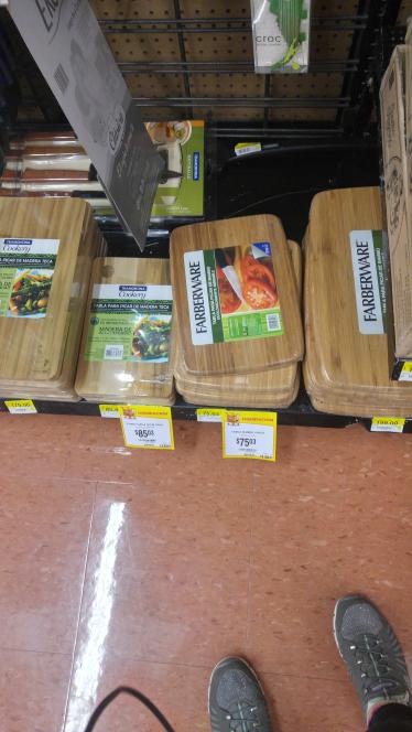 Walmart: varias ofertas en tablas para cocina Farberware a $75.03, $85.03 y más