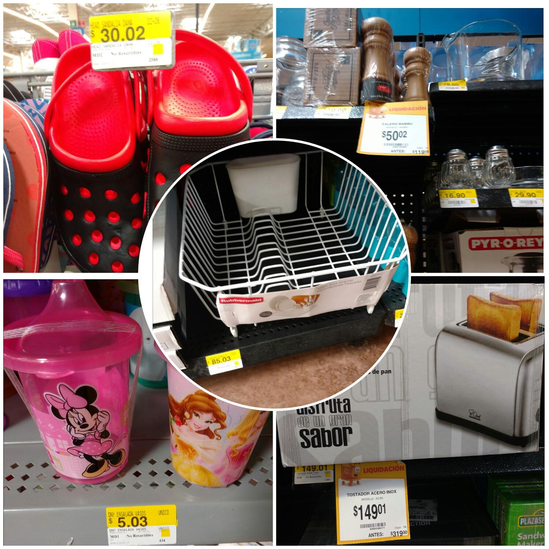Walmart ote Tuxtla: sandalias tipo crocs $30.02 y más...