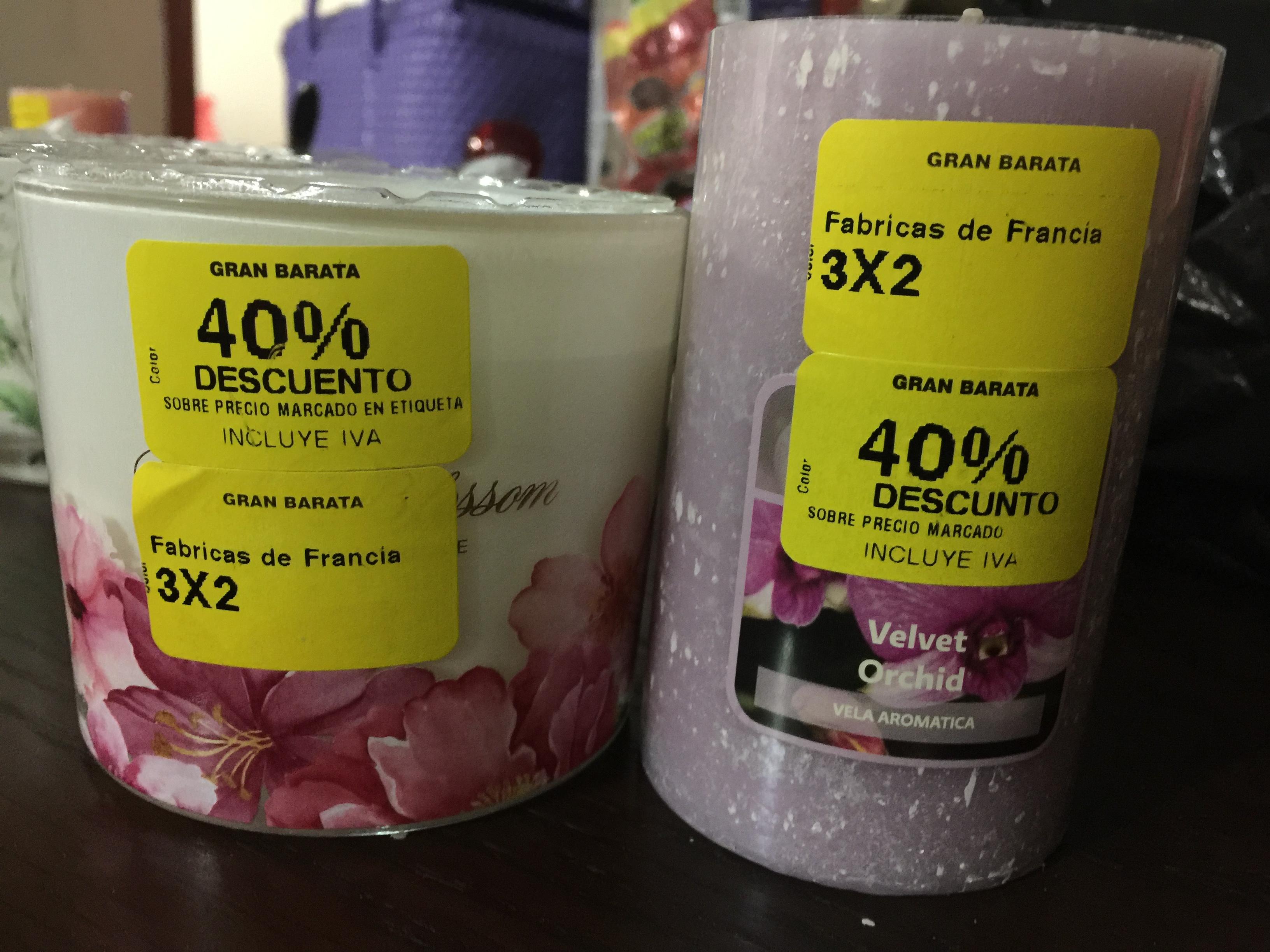 Liverpool: velas 40% + 3x2 y Cortina para baño a $159