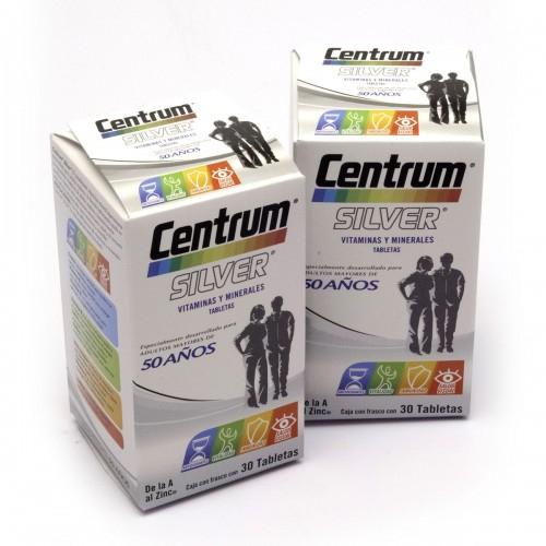 Chedraui Online Copilco: Pack 2 cajas Centrum 30 Tabletas + 30 Tabletas