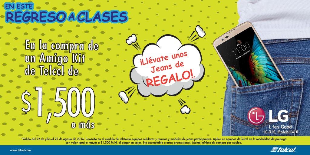 Suburbia: Compra un equipo Telcel y llévate unos Jeans de regalo con valor de $350 en equipos mayores a $1,500
