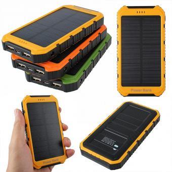 Linio: Cargador portatil con sistema de Celdas solares a $205 ($105 con cupón)