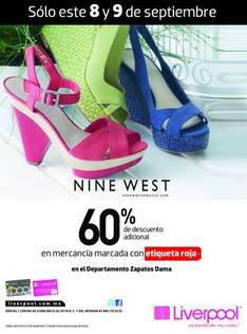 Liverpool: 60% de descuento adicional en zapatos con etiqueta roja