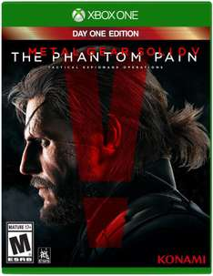 Amazon México: Metal Gear Solid V Day One Edition para Xbox One a $319 pesos