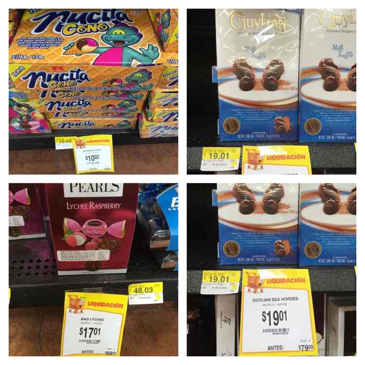 Walmart: súper oferta de chocolates (ej. 12 conos rellenos marca Nucita por $10.02)