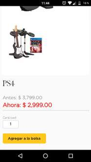 Palacio de Hierro: Rock Band 4 para PS4 a $2,999