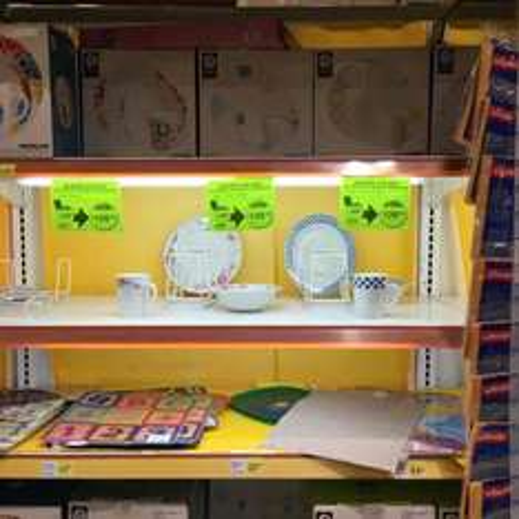 Comercial Mexicana Mega Galerías Jalisco: vajilla 12 piezas a $128