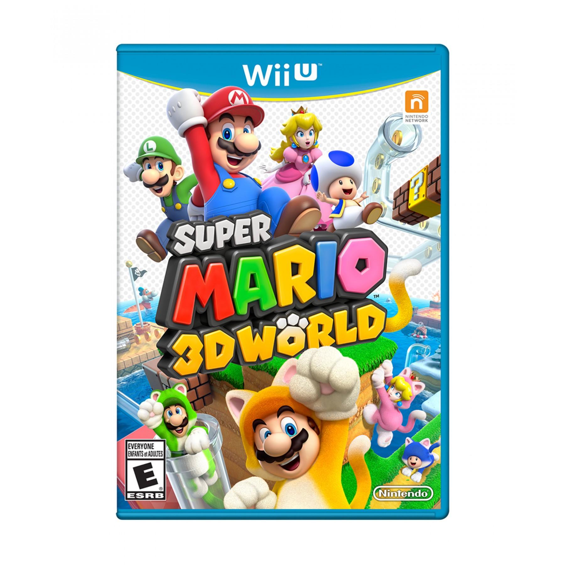 Palacio de Hierro en línea: SUPER MARIO 3D WORLD NINTENDO WII U