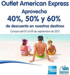 Outlet Interjet con American Express