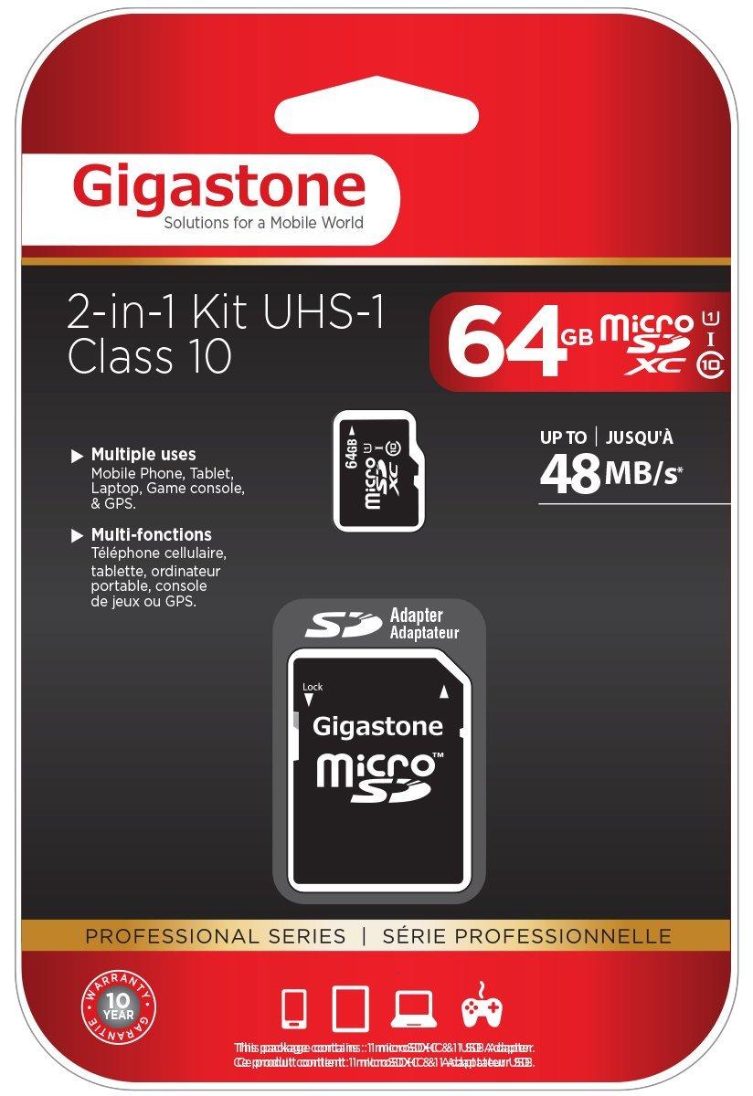 Amazon: Tarjeta Micro SD clase 10 de 64GB a $240