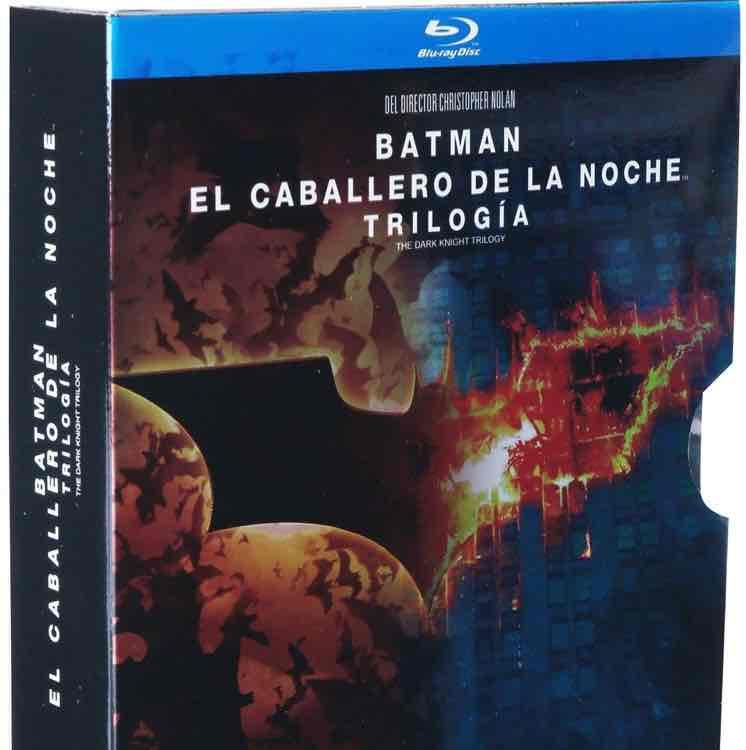 Amazon: trilogía de Batman el Caballero de la noche en Blu-ray a $299