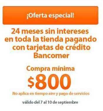 Chedraui: 24 meses sin intereses con Bancomer, 3x2 en focos ahorradores y más