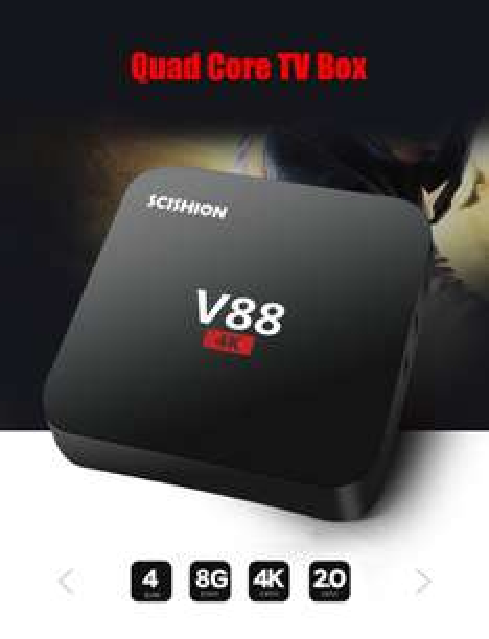 Gearbest: SCISHION V88 TV Box Rockchip 3229 Quad Core