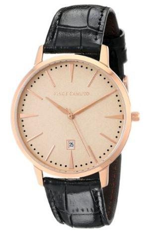 AMAZON: Reloj Vince Camuto Cristal mineral; esfera rosa claro brillante ENVÍO GRATIS