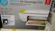 Bodega Aurrerá: Impresora HP 2135 a $690