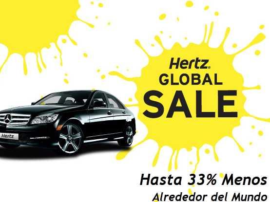 Hertz: 20% de descuento en renta de autos en México, USA, Canadá y más países