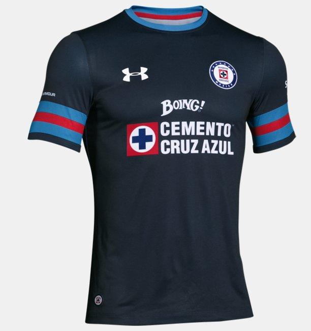Under Armour en línea: Playera Cruz Azul Temporada 2017 a $529.08
