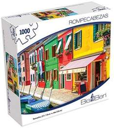 Amazon: Rompecabezas Novelty 1000 piezas en $71.41