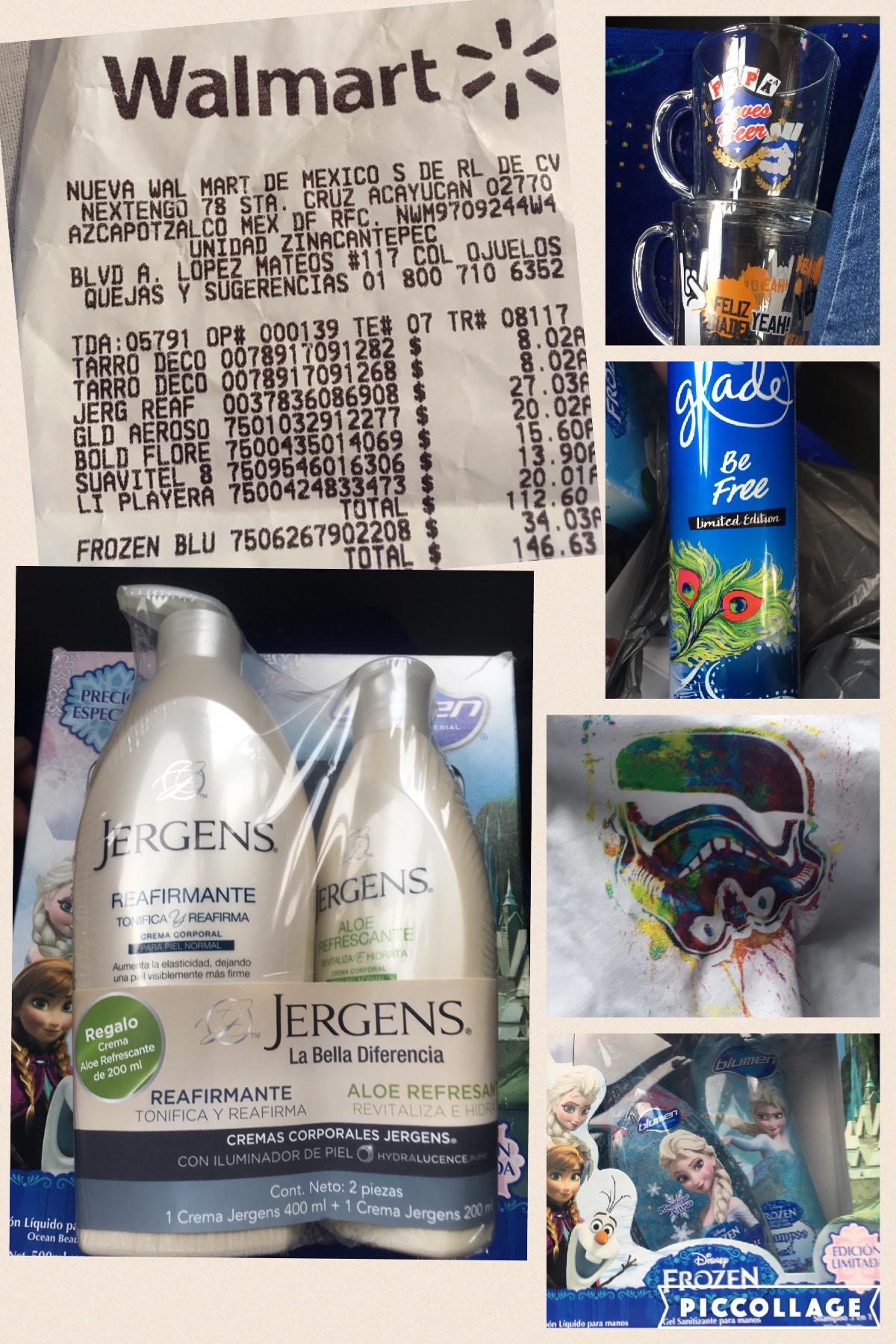 Walmart Zinacantepec liquidaciones: tarros $8.01, playera starwars $20.01 etc