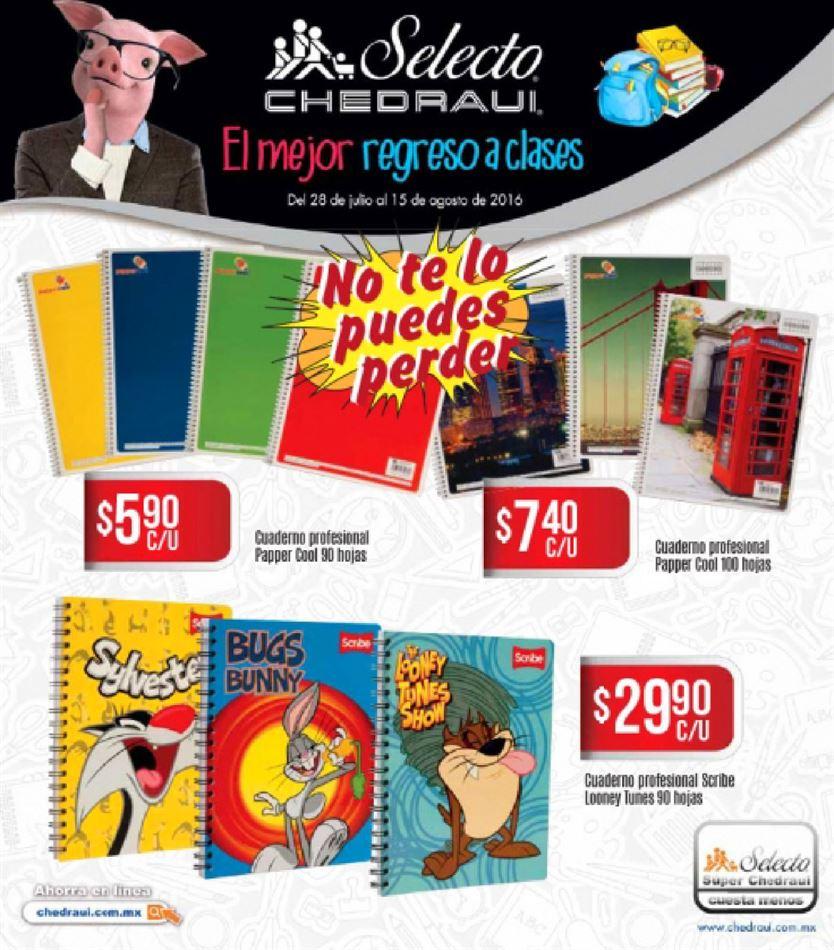 Chedraui: folletos del 28 de julio al 15 de agosto