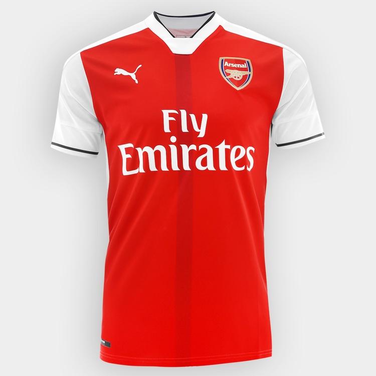 Netshoes: Jersey Arsenal 16/17 a sólo $759 con cupón.