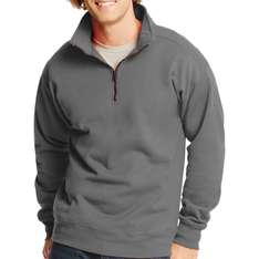 Amazon: Sudadera Hanes Men's Nano Quarter Zip