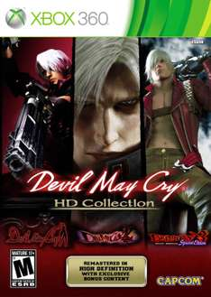 Amazon: Devil May Cry HD Collection (DMC 1, 2 y 3) para Xbox 360