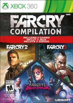 Amazon: FARCRY Compilation para Xbox 360