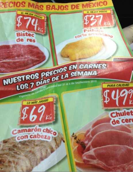 Tianguis de Mamá Lucha agosto 31: zanahoria $4.90, plátano $3.50 y más