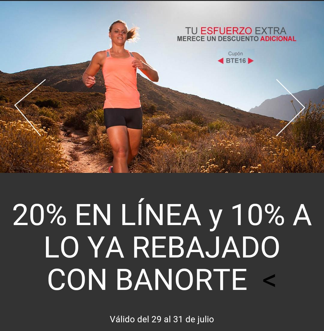 Martí en línea: 20% de descuento y 10% adicional a lo ya rebajado con Banorte